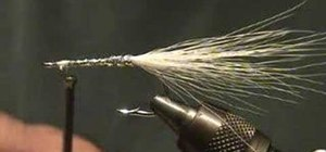 Tie a glass minnow fly