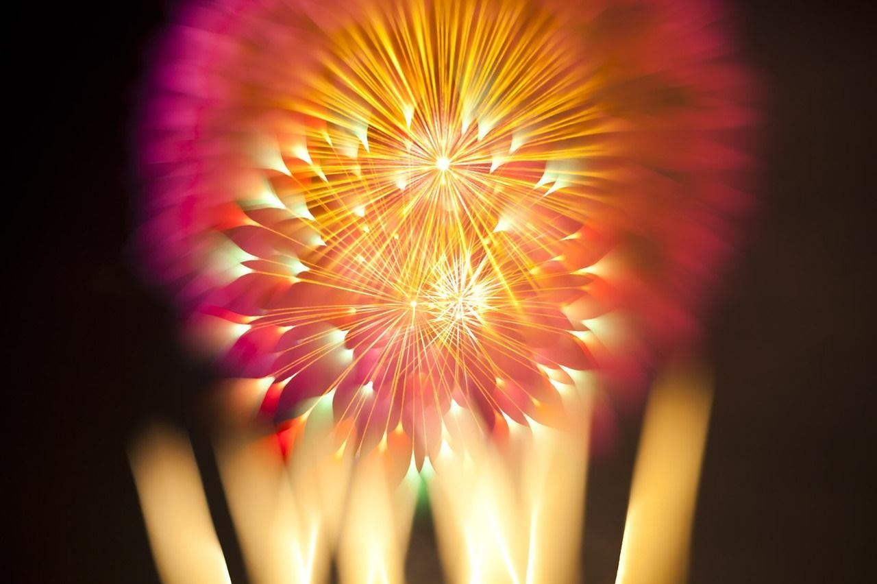 This Easy Photo Trick Makes Fireworks Look Like Brilliant Sky Creatures