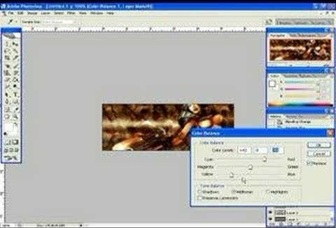 Use Photoshop to make a forum signature graphic - Part 2 of 2