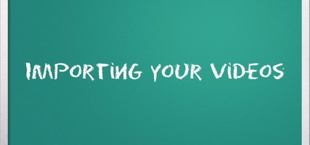 How to Import clips quickly into iMovie « iMovie :: WonderHowTo