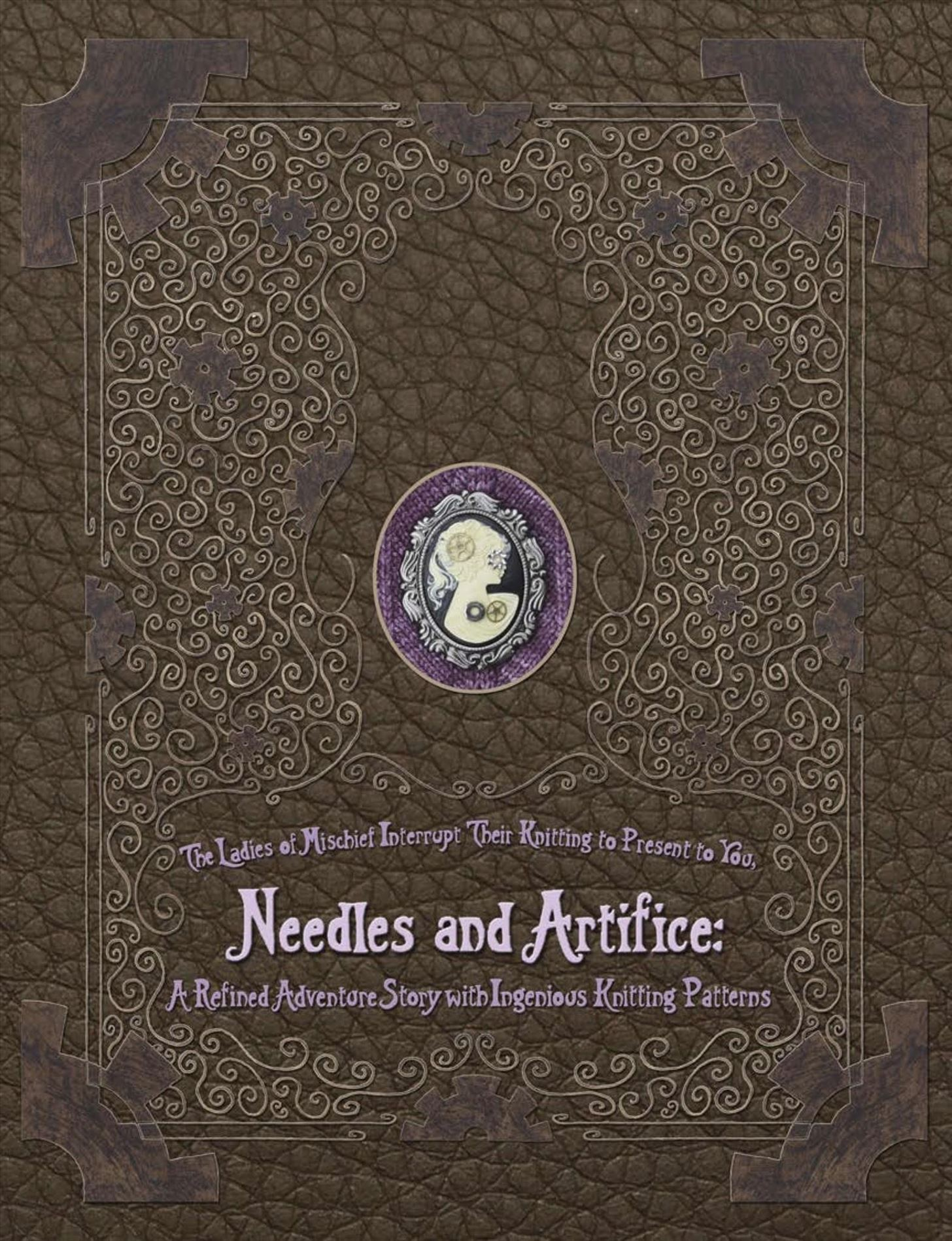 Steampunk Adventure Book About... Knitting?