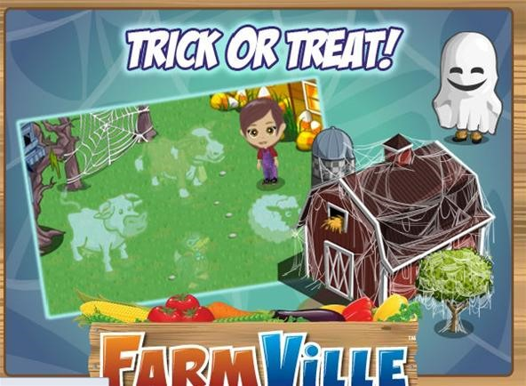 FarmVille Trick or Treat and Spooky Effect
