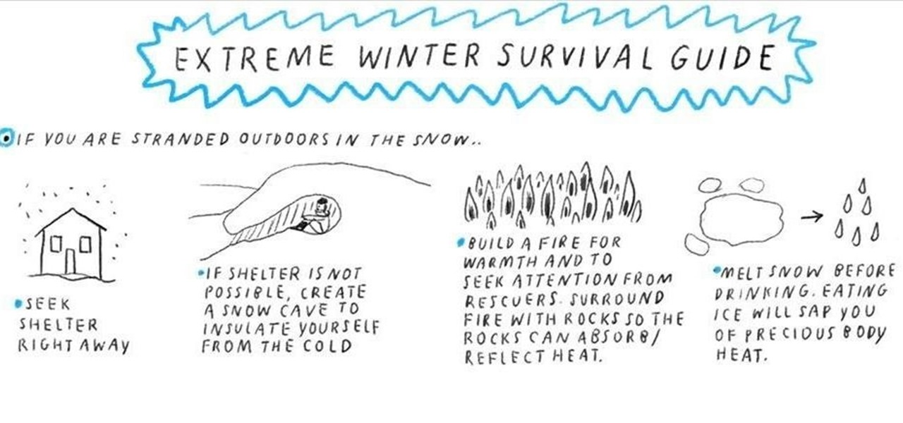 Your Illustrated Extreme Winter Survival Guide