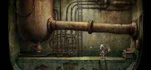 Get through level six in the indie game Machinarium