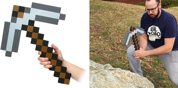 SUBMIT: Create the WonderHowTo Mascot in Minecraft by June 27th. WIN: Minecraft Pickaxe!