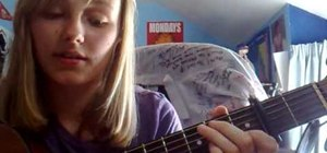 """Play """"Love Story"""" by Taylor Swift on acoustic guitar"""