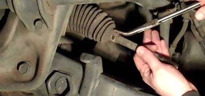 Replace an inner tie rod on a Ford Explorer
