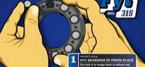 Install bearings for your car