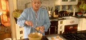 Make magical peanut butter cookies with Paula Deen