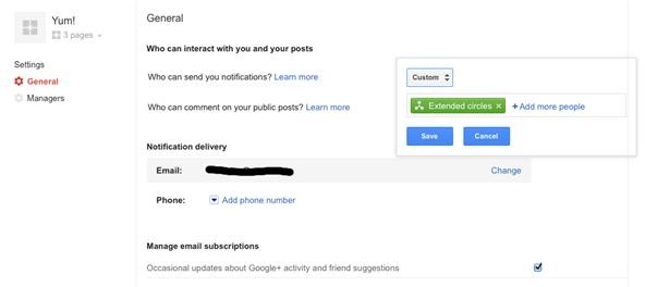 How to Fix Your Notification Settings in Google+ Pages