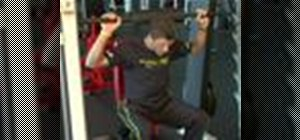 Do neck exercises with barbells