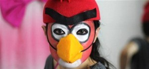 Be an Angry Bird for Halloween