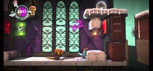 Gather all of the prize bubbles in Runaway Train on LittleBigPlanet 2