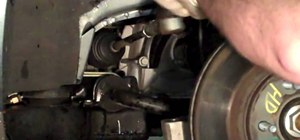 Replace an outer tie rod on a Cadillac DeVille