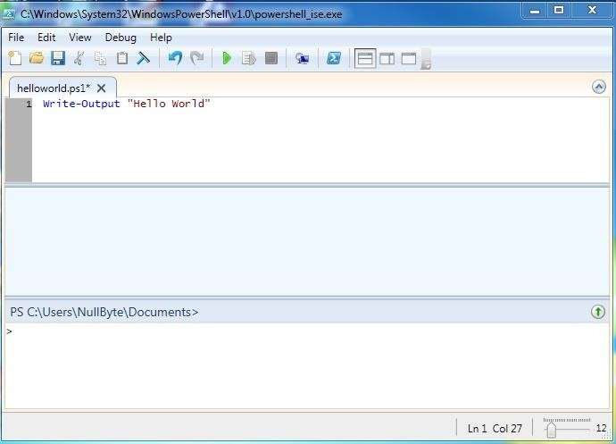 Hack Like a Pro: Scripting for the Aspiring Hacker, Part 3 (Windows PowerShell)
