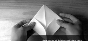 Fold a floating origami boat