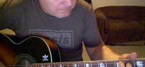 """Cover the song """" The Drugs Don't Work"""" by The Verve on acoustic guitar"""