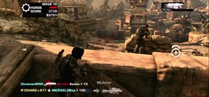 Defeat the Horde 2.0 Brumak boss fight in Gears of War 3