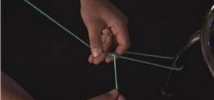 Make a bimini twist fishing knot