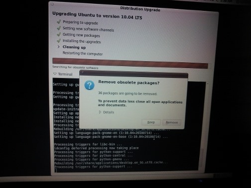How to Upgrade Ubuntu 9.10 (Karmic Koala) to 10.04 (Lucid Lynx)