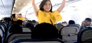 Survive a Plane Crash (Demonstrated by Flight Attendant Hotties)