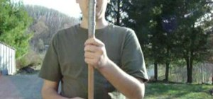 Make a DIY throwing spear for hunting