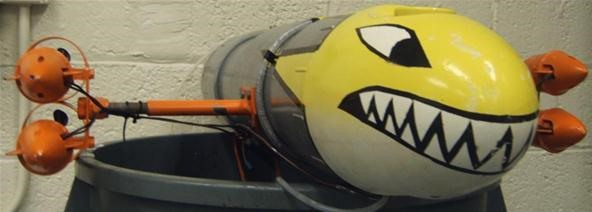 Robotic Unmanned Submarine