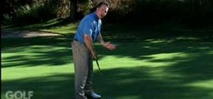 Putt for perfection by keeping the club face square