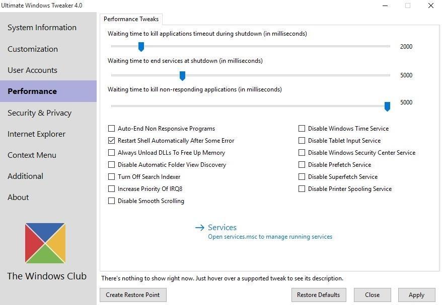 how to change cpu shutdown temperature windows 10