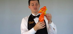 Make several shapes by twisting balloons