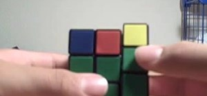 Use the 2-Look OLL on the Rubik's Cube
