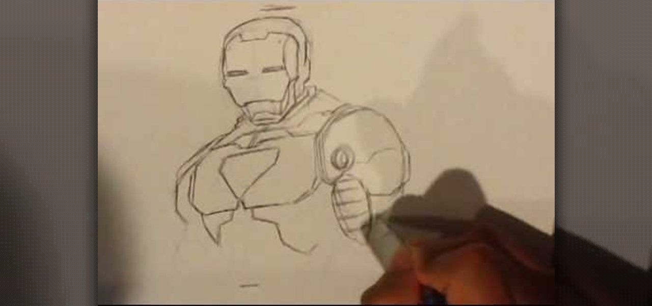Draw Iron Man