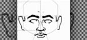 Draw a human head