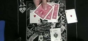 Perform the Ace Assembly card trick