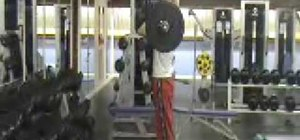 Do the clean and jerk exercise