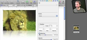 Import and manipulate images in iWork documents