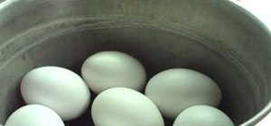 Make hard boiled eggs just right