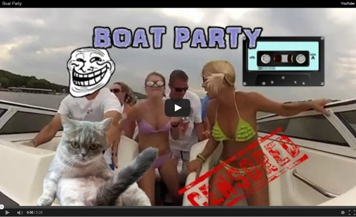 How to Party on a Boat Successfully