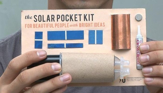 how to build a simple solar panel