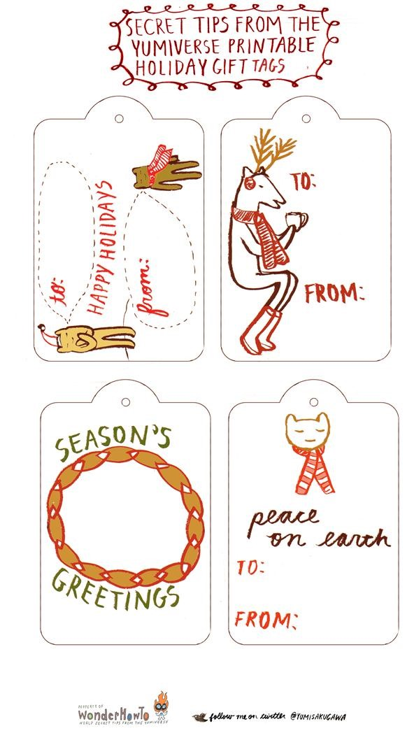 Free Print Out Holiday Gift Cards! (+5 Ideas for Making Your Own)