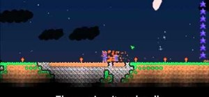 Do Michael Jackson's moonwalk in Terraria with the War Axe of the Night