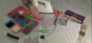 Make fun pixelated fuse bead coasters