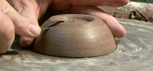 Finish a lidded clay box