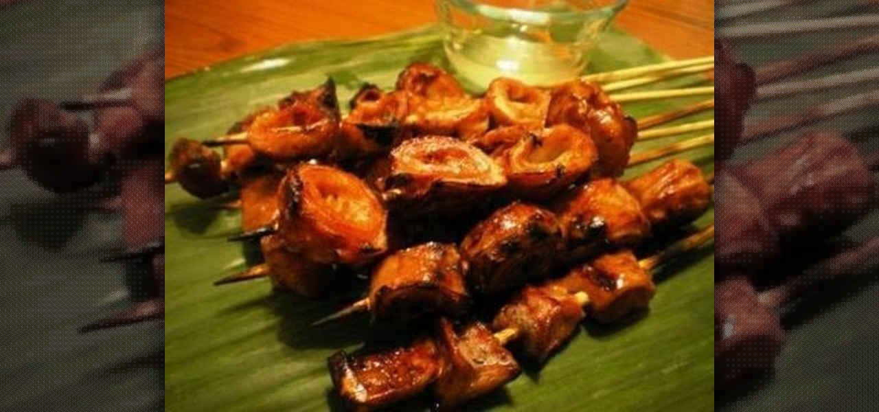 How To Make Filipino Grilled Isaw