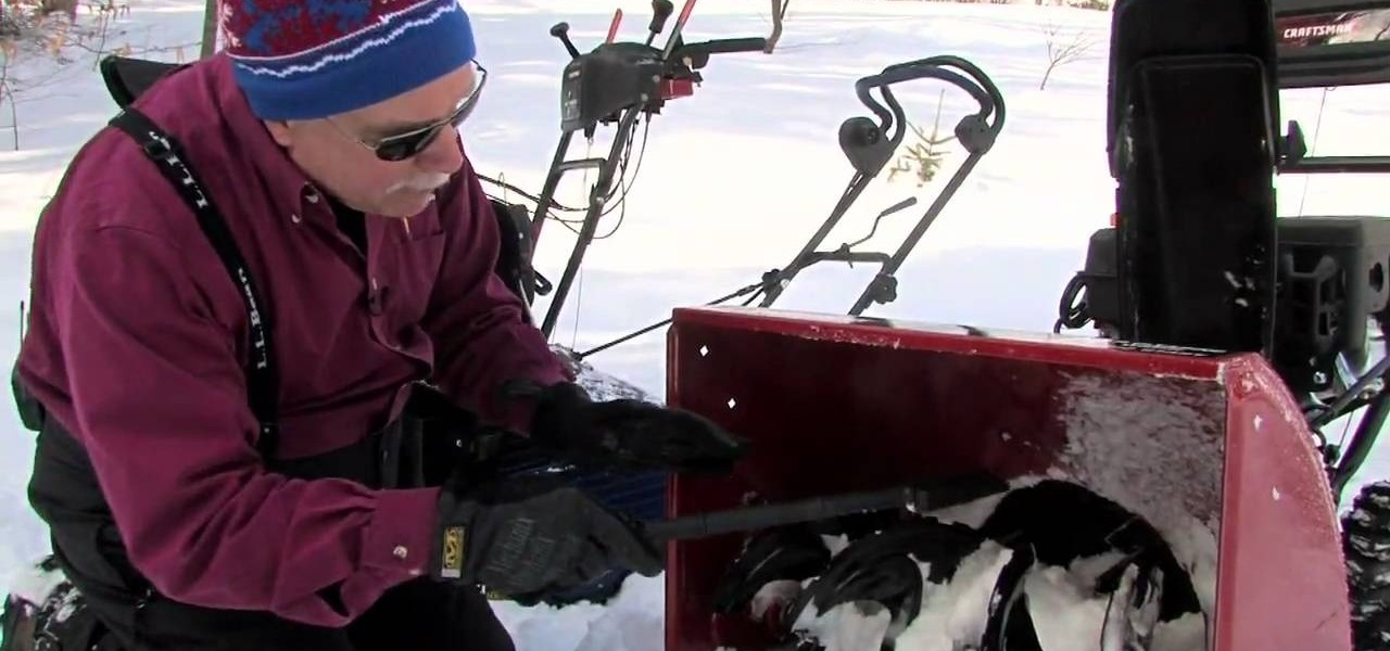 How To Remove The Carburetor Shield On Your Snowblower