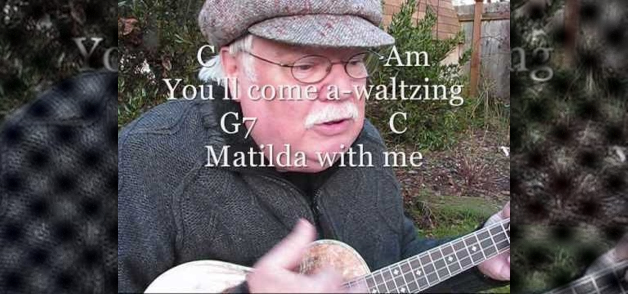How To Play Waltzing Matilda On The Ukulele Ukulele Wonderhowto