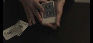 Perform a joker card trick