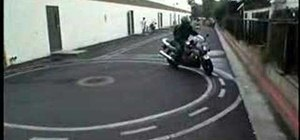 Pass a California motorcycle skills test
