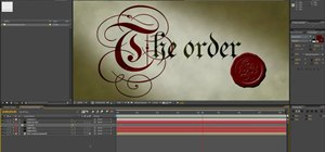 Create a medieval Knights Templar styled intro in After Effects