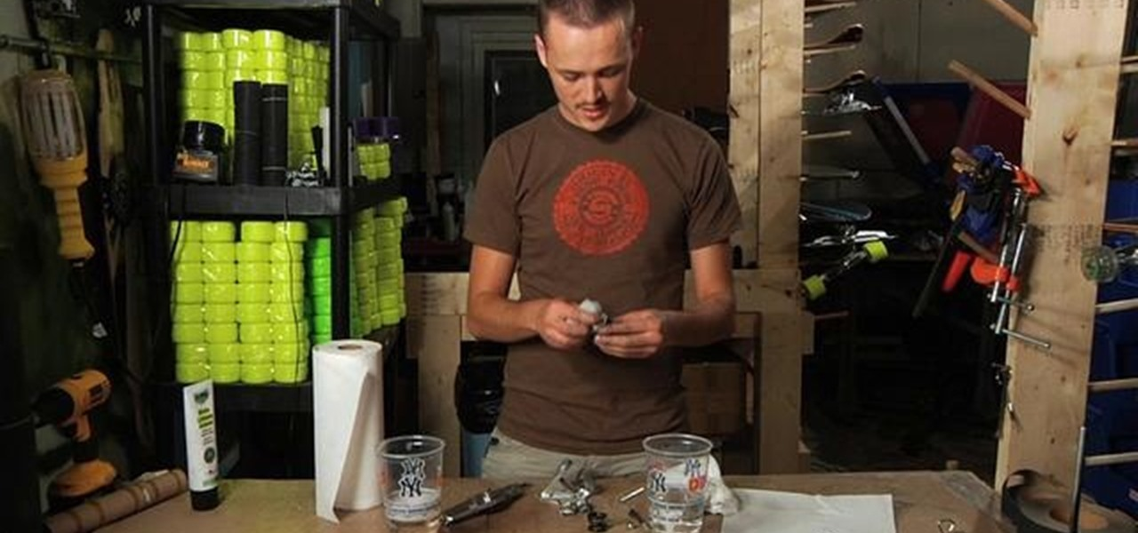 How To Lubricate Skateboard Bearings